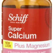Schiff Super Calcium 1200mg Plus Magnesium with Vitamin D3, 90 softgels – Calcium Supplement