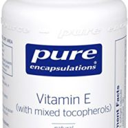 Pure Encapsulations – Vitamin E (with Mixed Tocopherols) – Dietary Supplement for Proper Cellular and Cardiovascular Functioning* – 90 Softgel Capsules