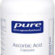 Pure Encapsulations – Ascorbic Acid Capsules – Hypoallergenic Vitamin C Supplement for Antioxidant Support* – 90 Capsules