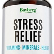 Anti Stress Supplement with Vitamins, Minerals and Herbs. Immune and Mood Support. Anxiety & Fatigue Relief Multivitamin. Antioxidant with Vitamin C, B Complex, Magnesium, Chamomile and more!