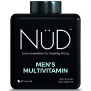 Daily Multivitamin for Men by NuD – Best for Fitness, Muscle Growth, Energy and Whole Body Health – 100% All Natural Supplements with Vitamins A, B, C, D, K & Other Minerals – Made in USA