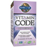 Garden of Life Vitamin Code Raw Prenatal Supplement, 90 Count