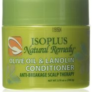 Isoplus Natural Remedy Olive Oil & Lanolin Conditioner, 4 oz.
