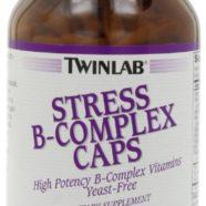 Twinlab Stress B-Complex Caps with Vitamin C, 250 Capsules