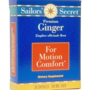 Sailors' Secret Premium Ginger | The Natural Remedy for Motion Sickness
