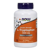 Now Foods L-tryptophan 1000mg, Tablets, 60-Count